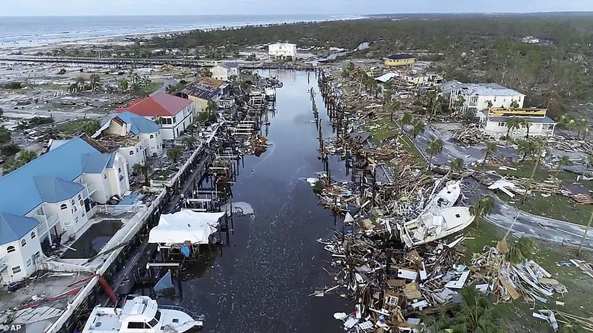 El sur de Estados Unidos, el Caribe y Centroamérica tuvieron una devastadora temporada de huracanes, en la que se destacaron las ráfagas y lluvias de Florence y Michael