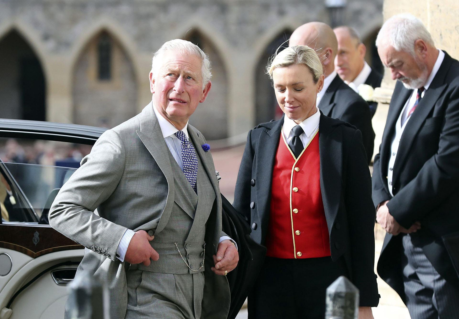 El príncipe Charles, sin Camilla