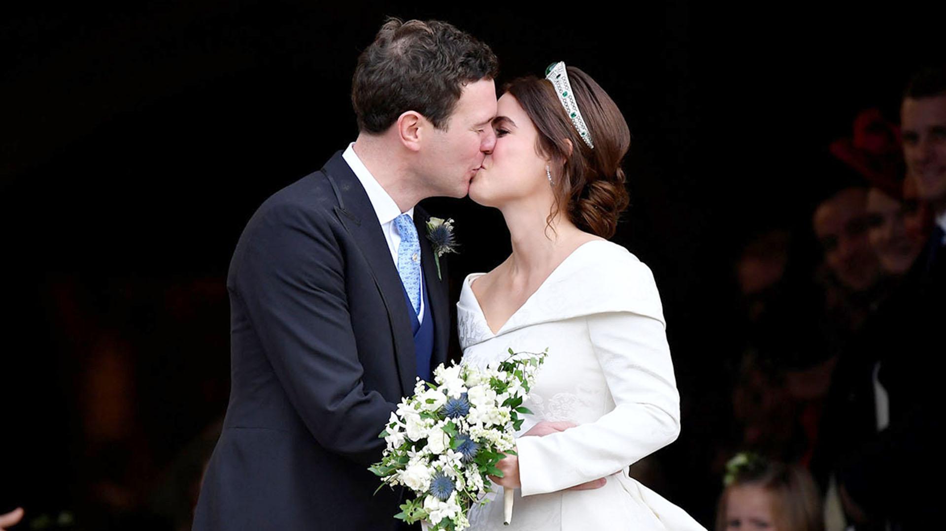 Luego de ocho años de relación sellaron su amor en la Capilla de St. George en Windsor