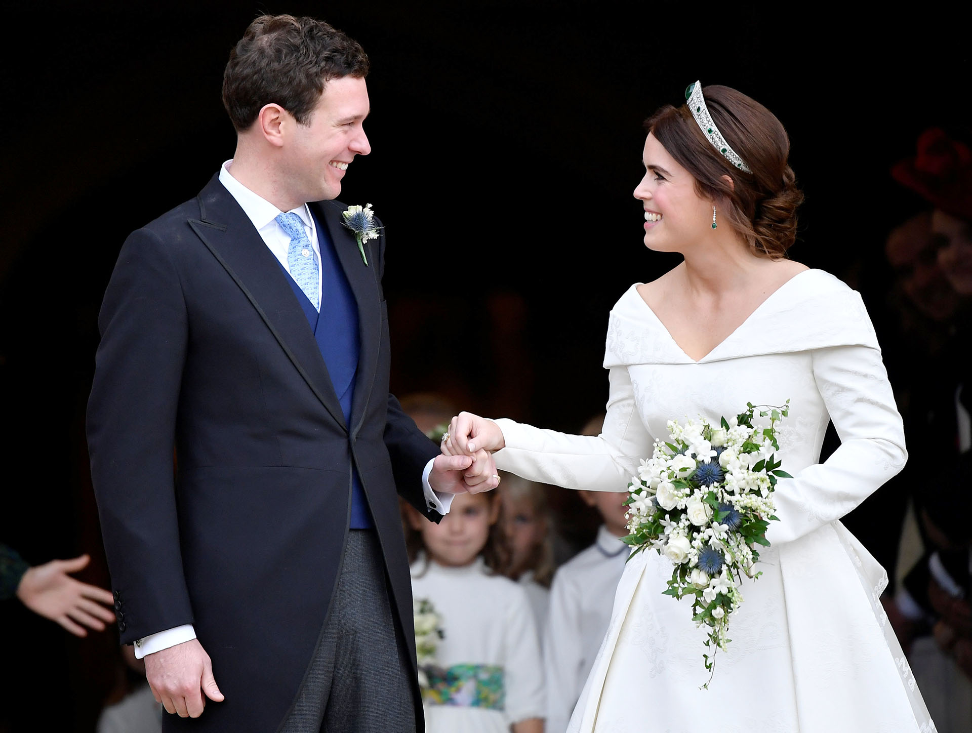La felicidad de los recién casados