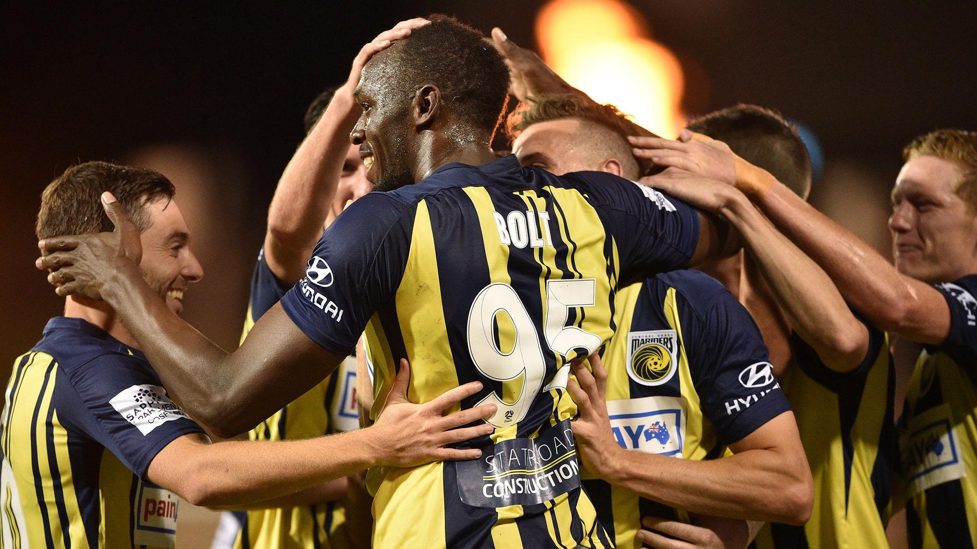 (AFP) Bolt juega en Australia
