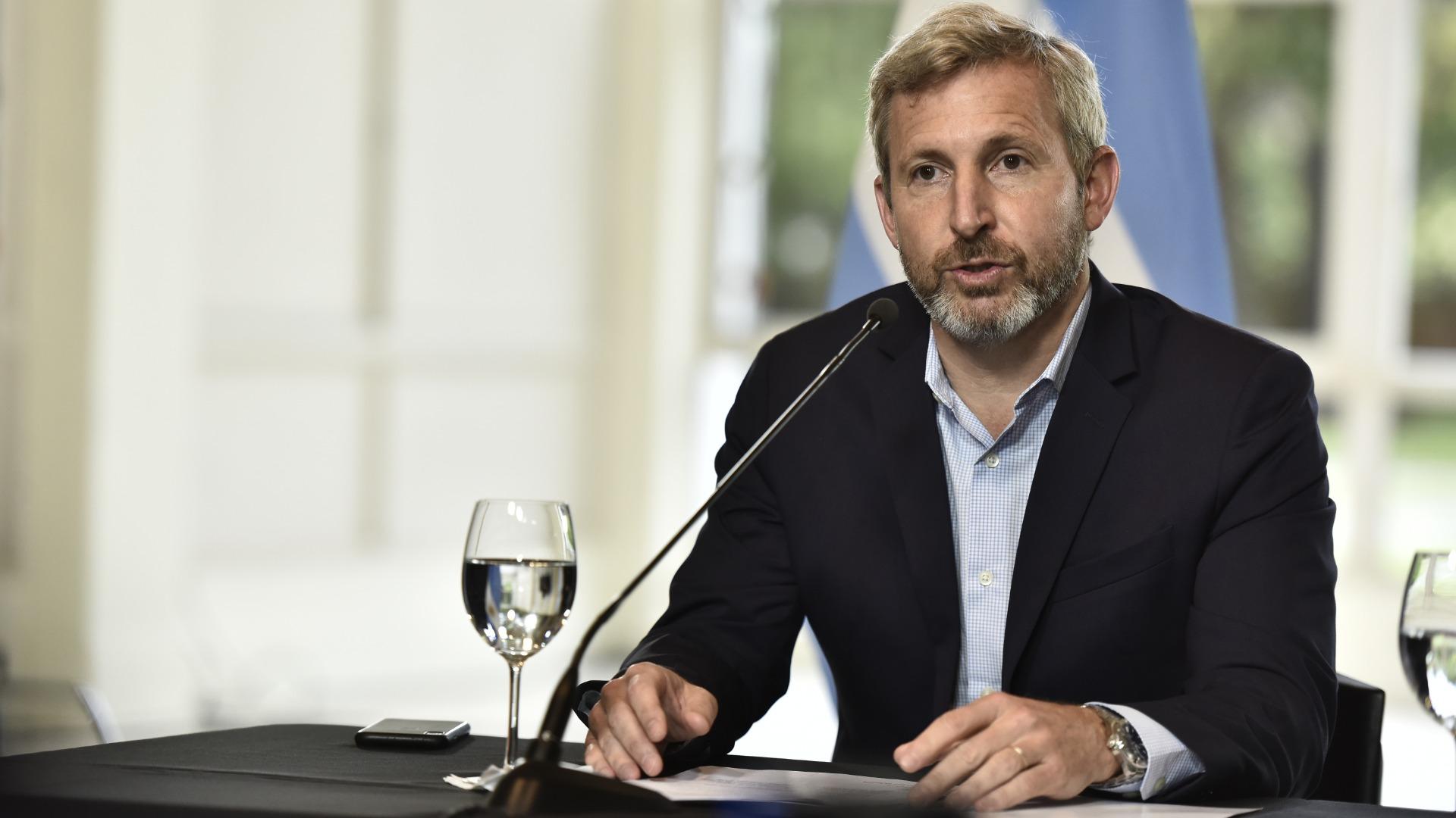 """El ministro del Interior Rogelio Frigerio había pedido echar a los extranjeros """"lo más rápido posible"""" (Adrián Escandar)"""