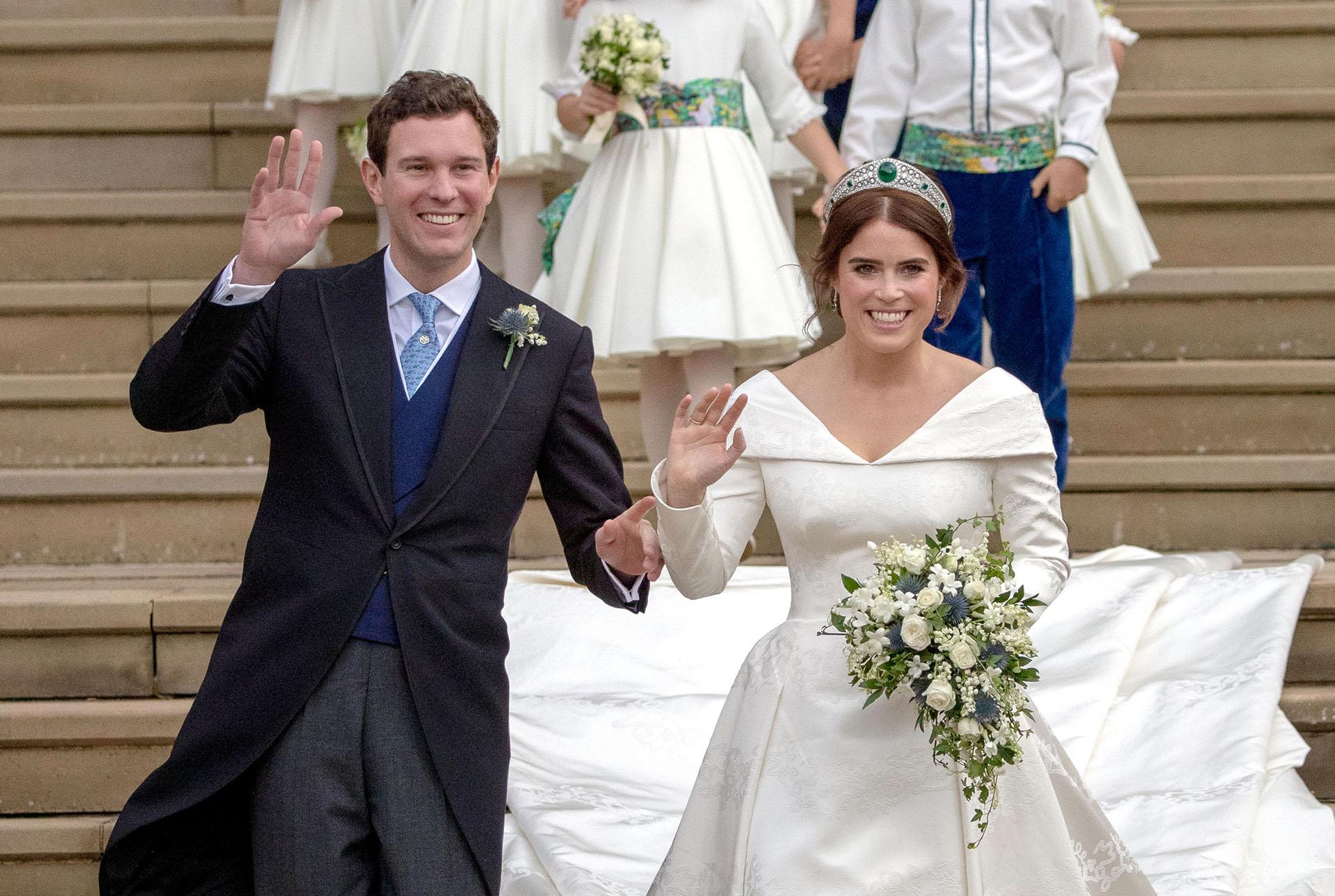 Los recién casados, se comprometieron en enero de 2018