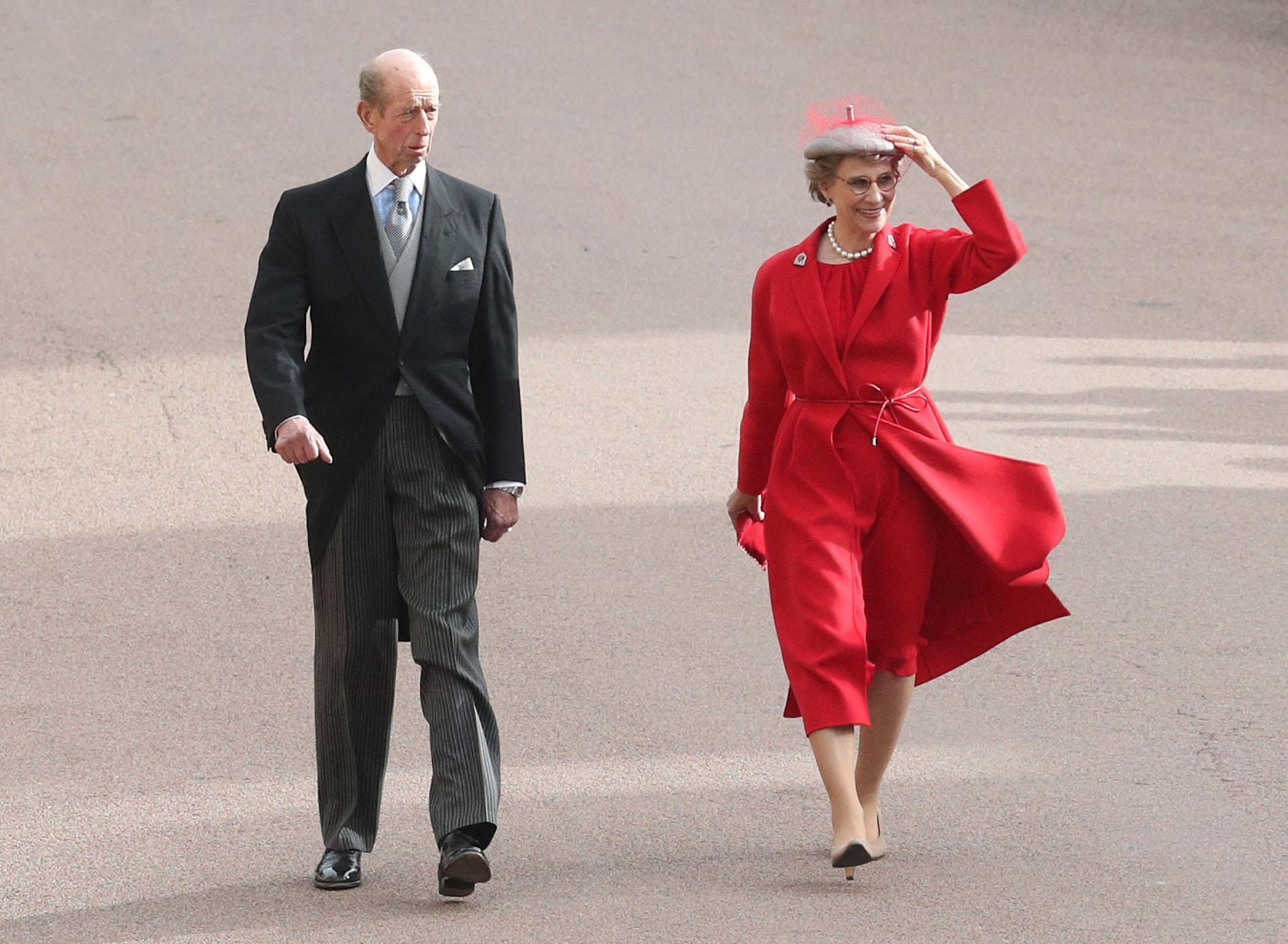 Edward, el duque de Kent y Birgitte, Duquesa de Gloucester