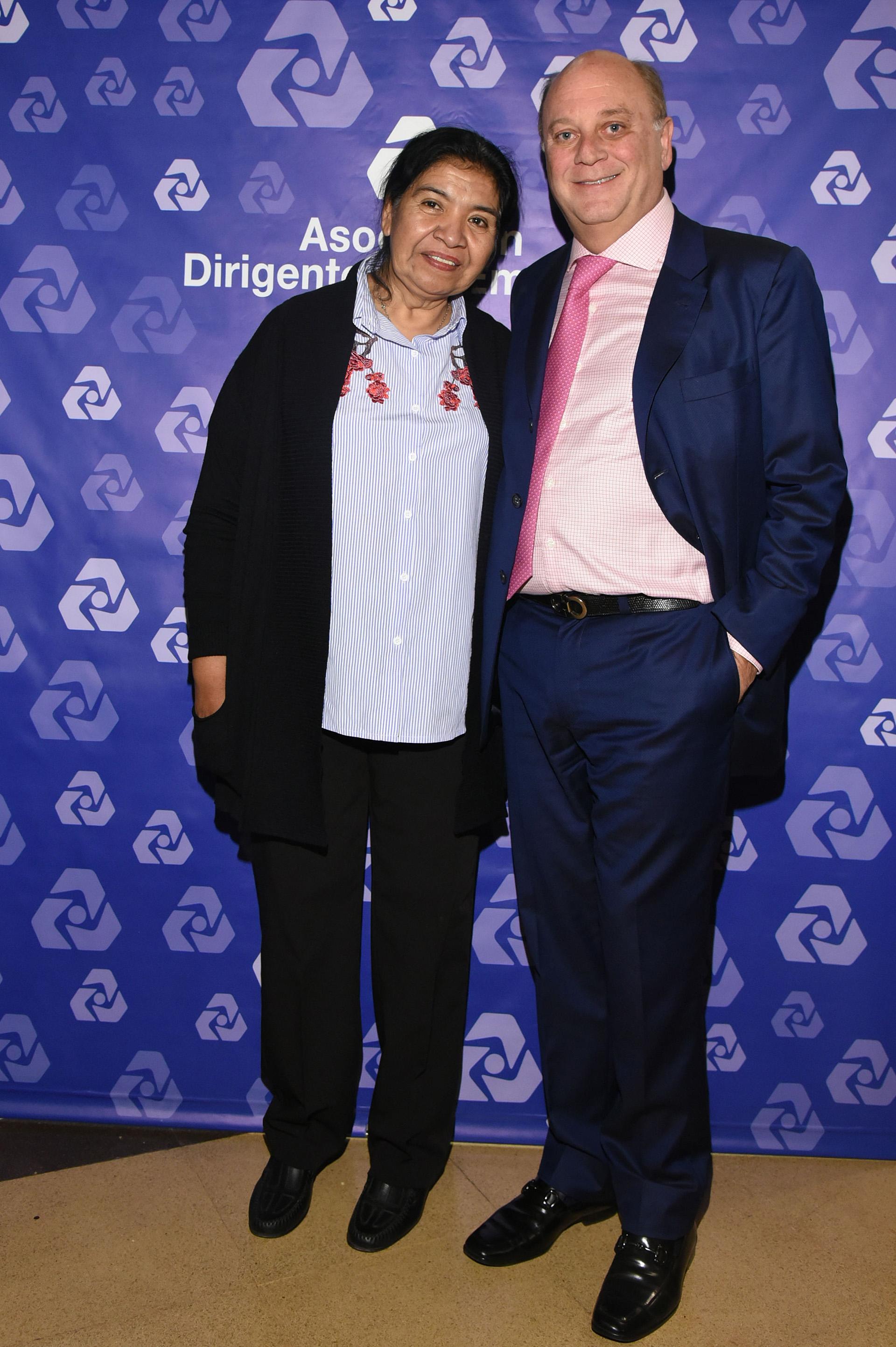 Margarita Barrientos y Martín Cabrales