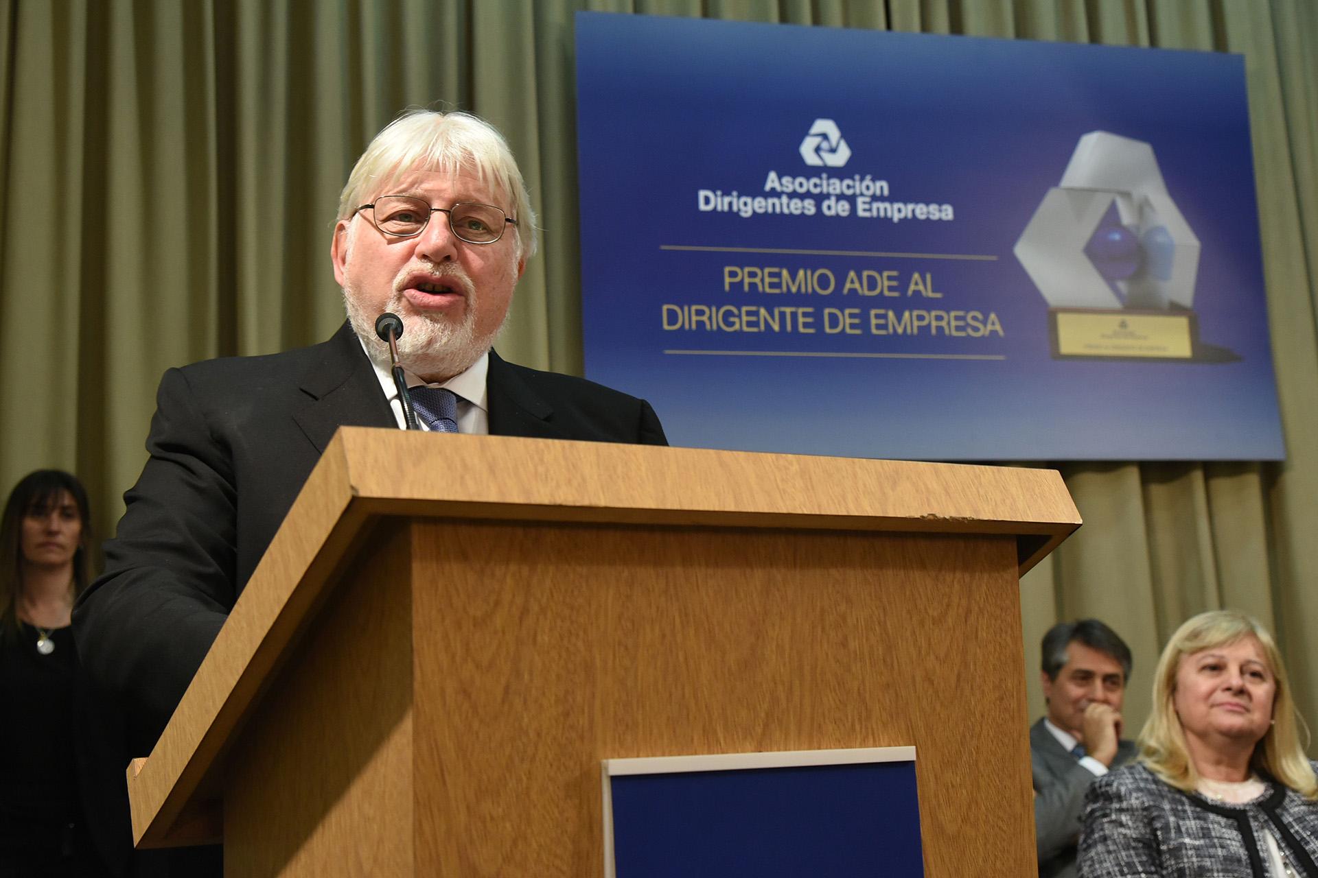 Adrián Werthein, miembro del jurado
