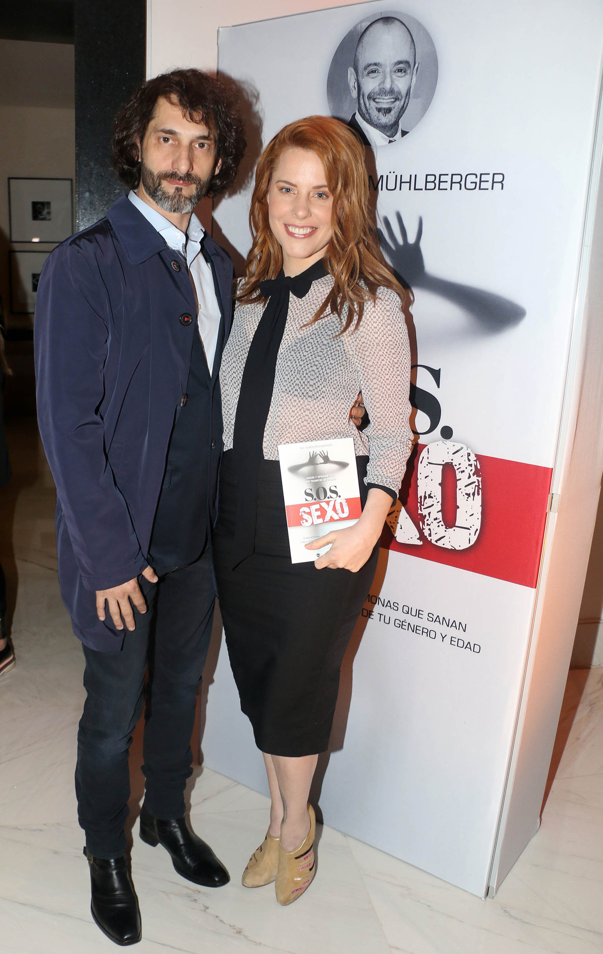 Agustina Kämpfer y su novio, Carlos Gianella