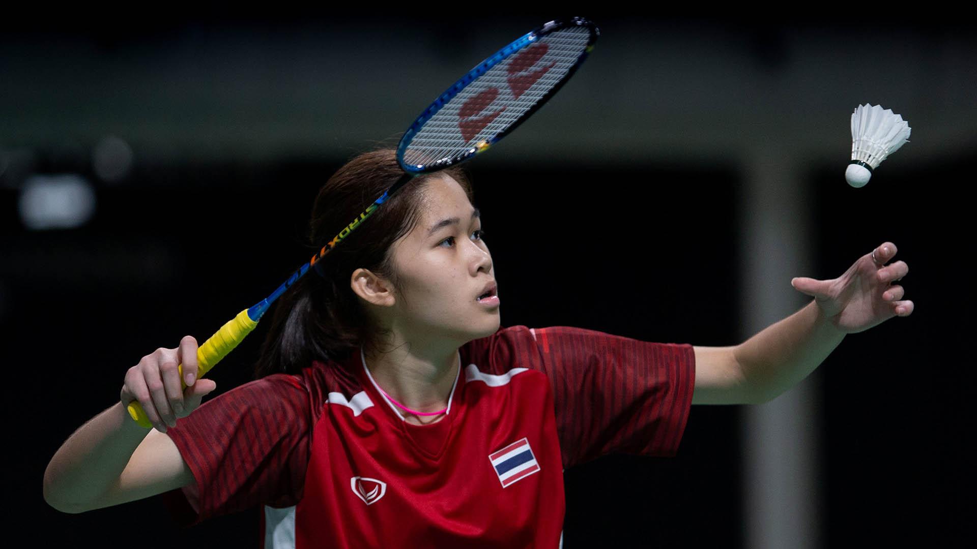 La tailandesa Phittayaporn Chaiwan logró la medalla de bronce en badmintón (Foto: REUTERS)