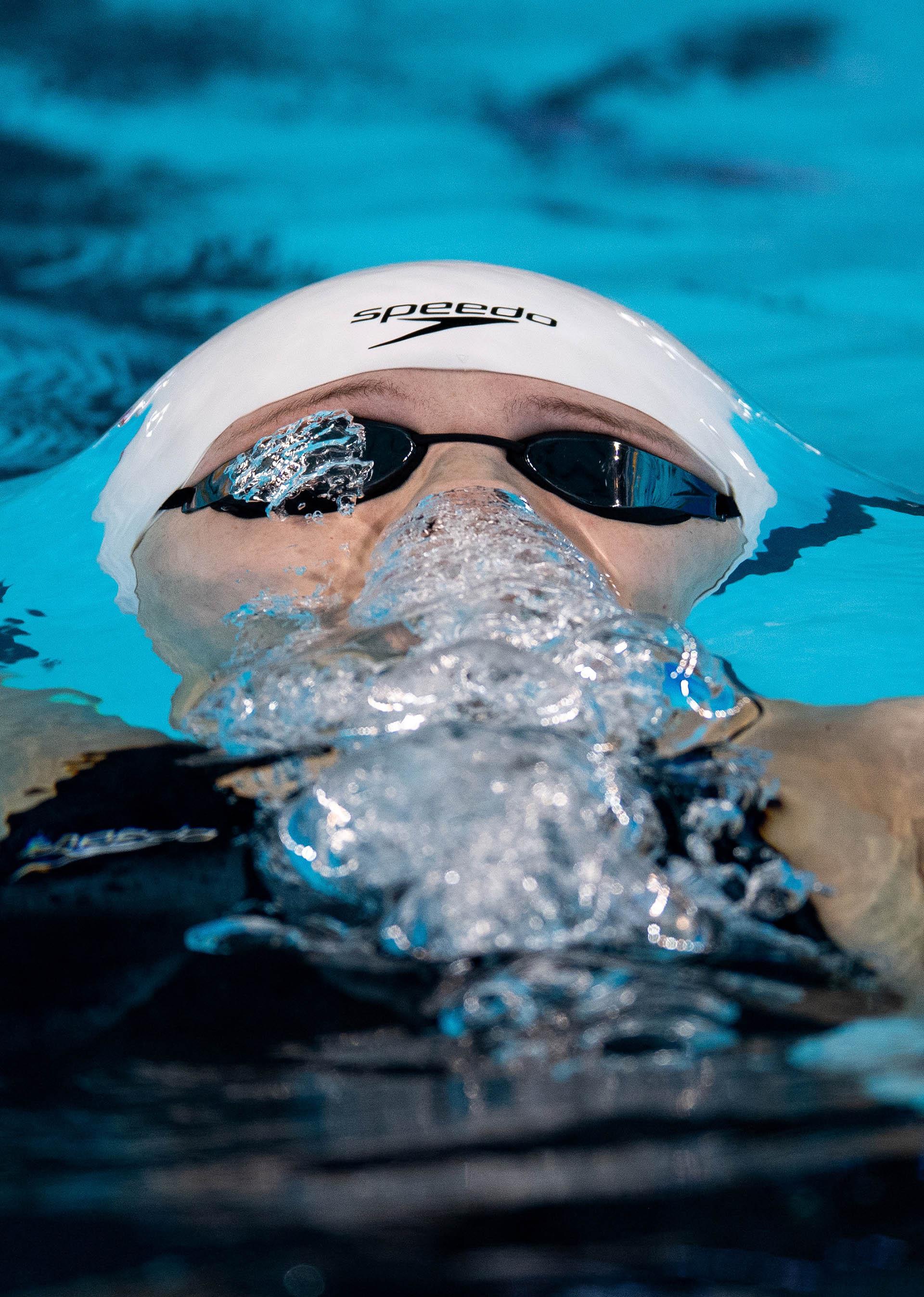 El canadiense Madison Broadfue uno de los protagonistas en el natatorio del Parque Olímpico (Foto:REUTERS)