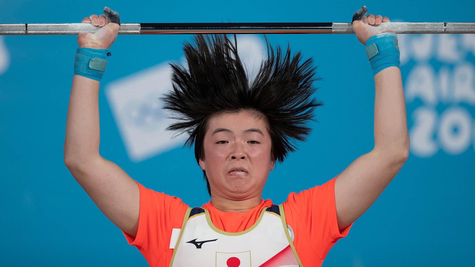 El japonés Sumire Hashimoto fue uno de los protagonistas en el pabellón Europa (Foto: REUTERS)