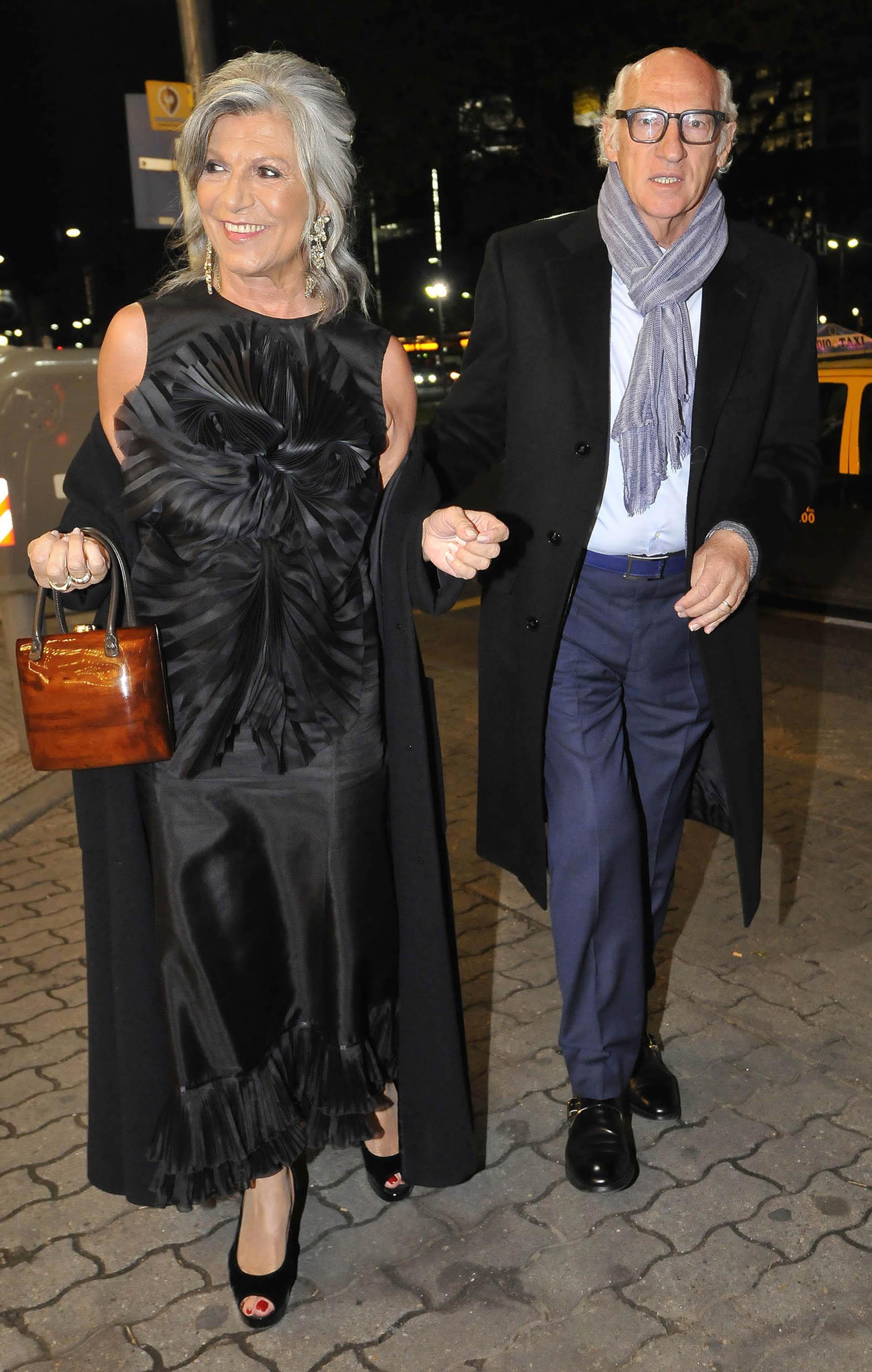 Carlos Bianchi y su esposa, Margarita María Pilla