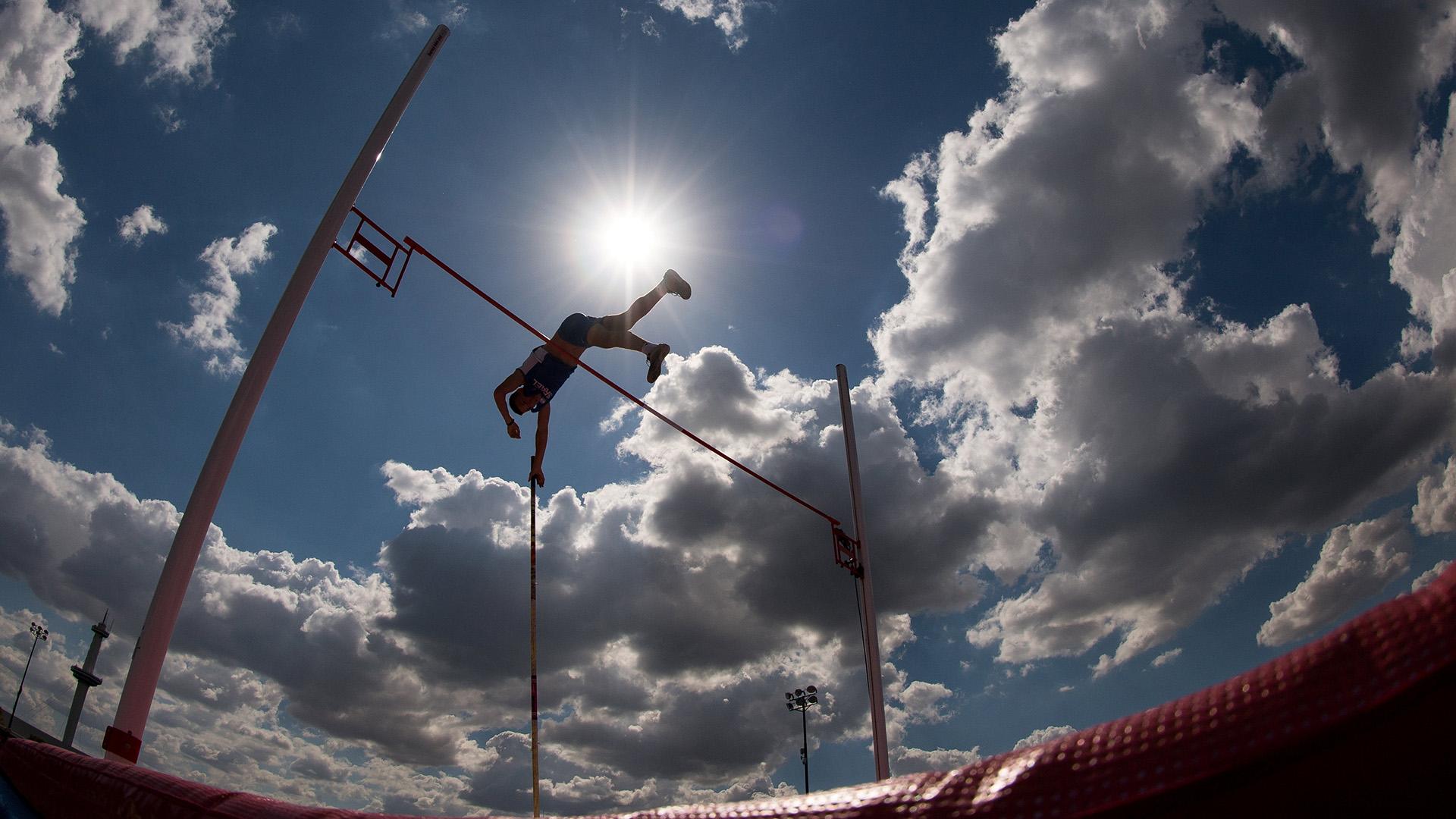 Amal Hasanov, de Israel,se lució en el Parque Olímpico de Villa Soldati(Foto:REUTERS)