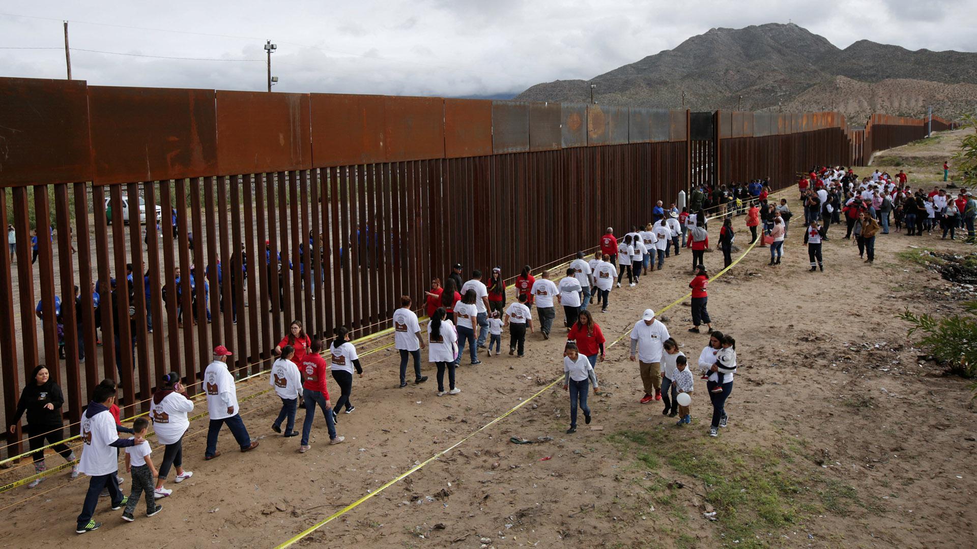 El gobierno de EEUU quiere ampliar el muro (Foto: Reuters)