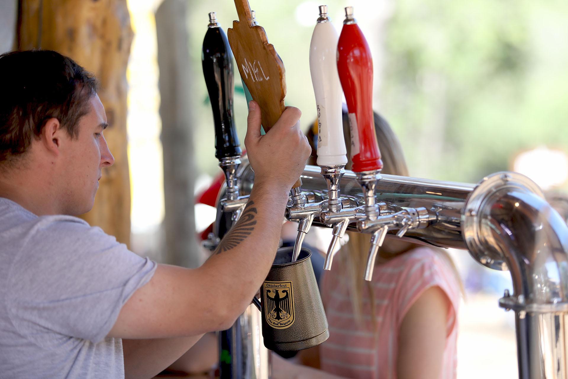 La cerveza tirada con miel, una de las más preferidas