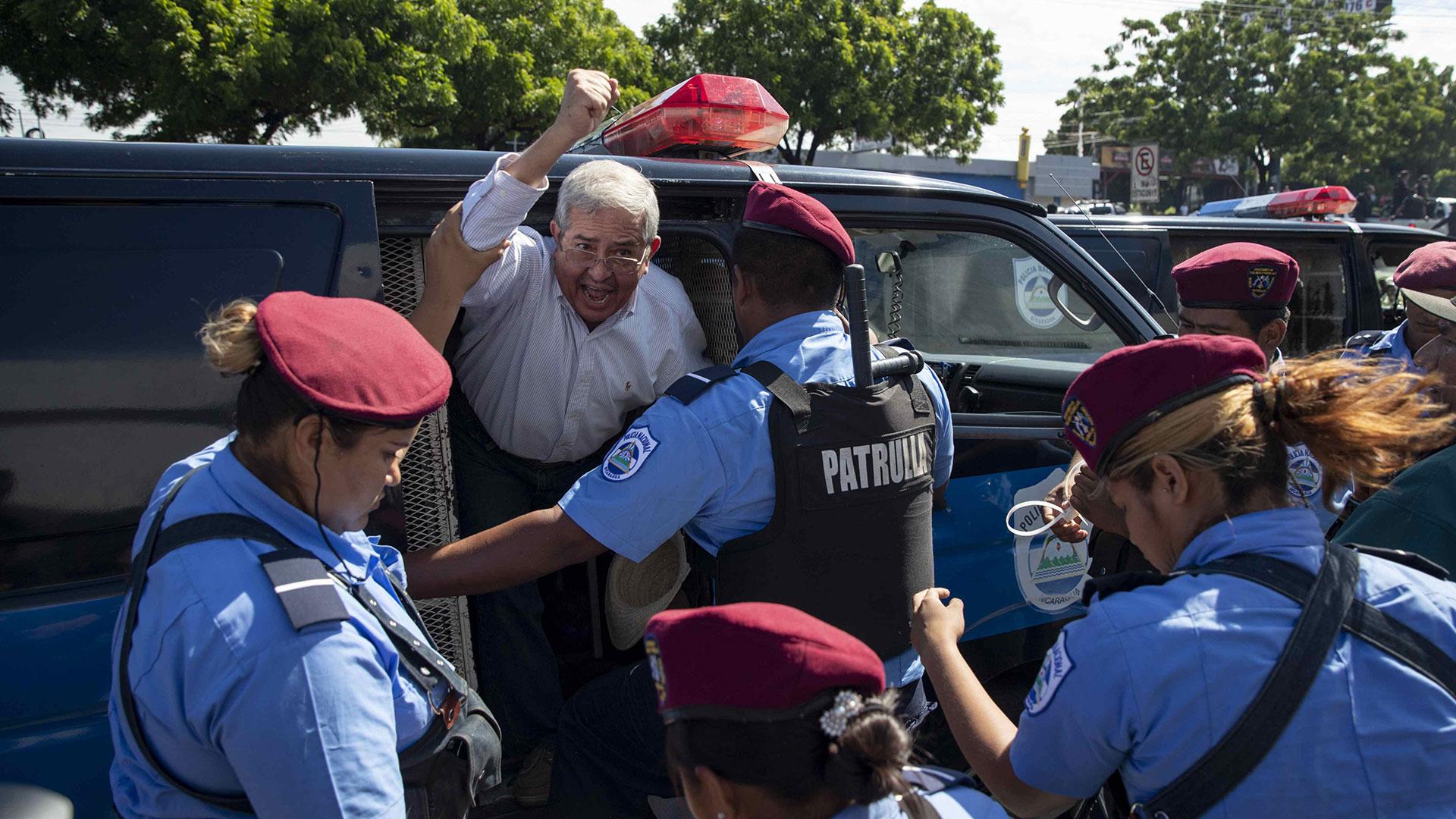 El régimen de Ortega reprime las manifestaciones en su contra (Foto: EFE)