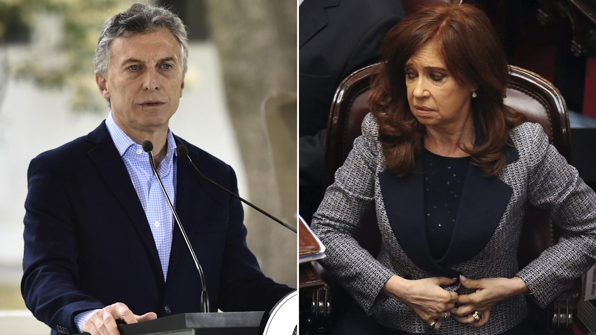 Macri y Cristina Kirchner no se pusieron conforme en el traspaso de mando en dos mil quince