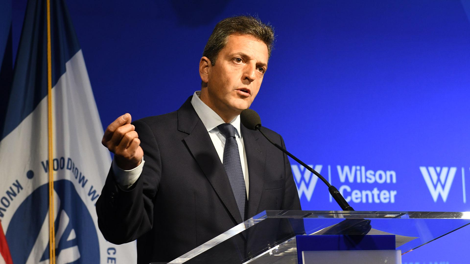 Sergio Massa (Prensa Frente Renovador)