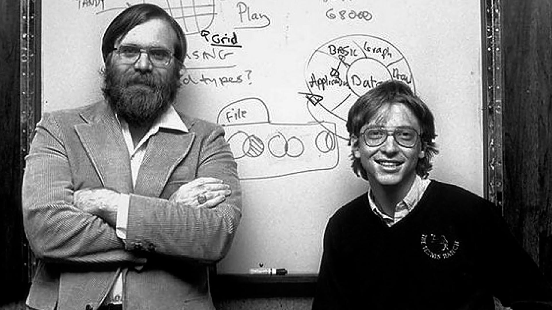 Paul Allen y Bill Gatesfueron los cofundadores de Microsoft en 1975.