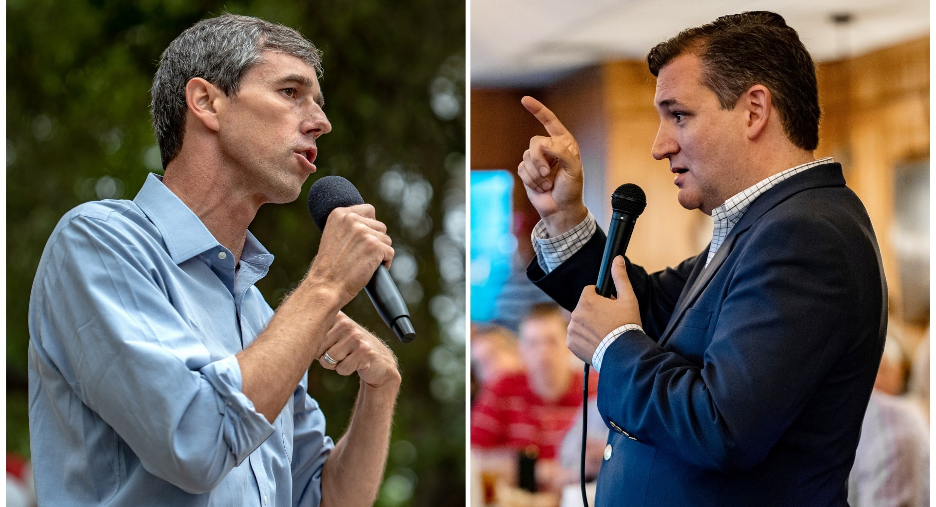 O'Rourke ganó atención nacional tras casi ganarle al republicano Ted Cruzen las elecciones para el Senado de Estados Unidos (Reuters)