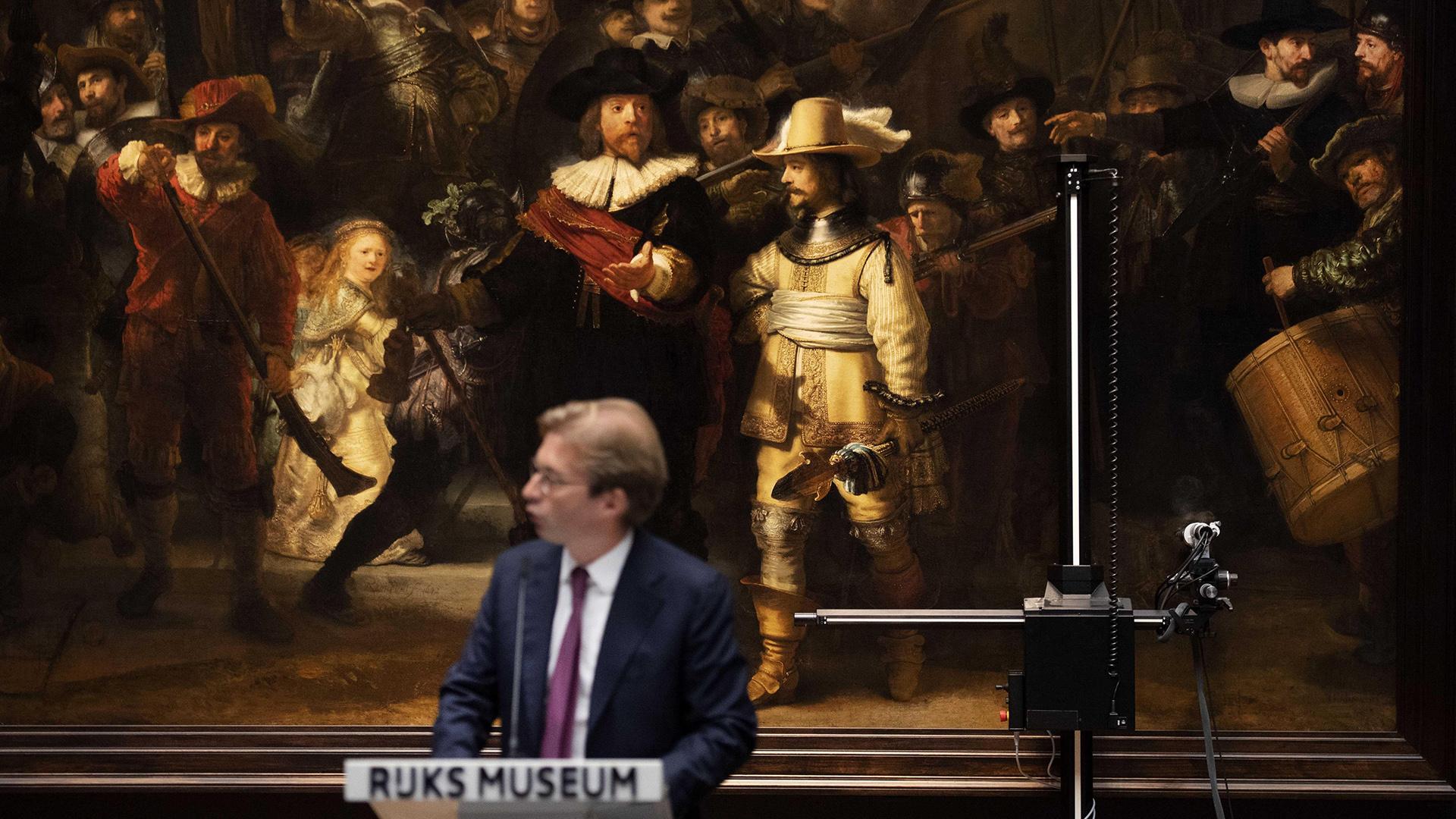 "Rembrandt, ""Ronda de noche"" (EFE)"