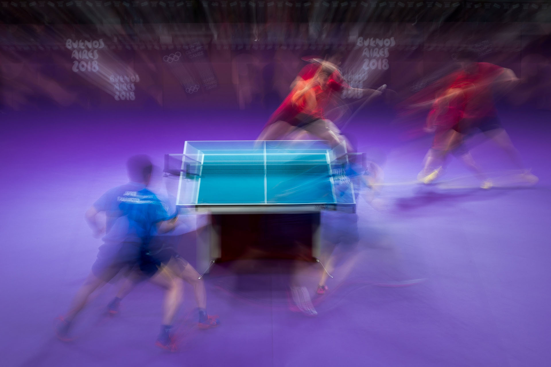 Las dupla japonesa enfrenta al dúo chino en tenis de mesa (Reuters)
