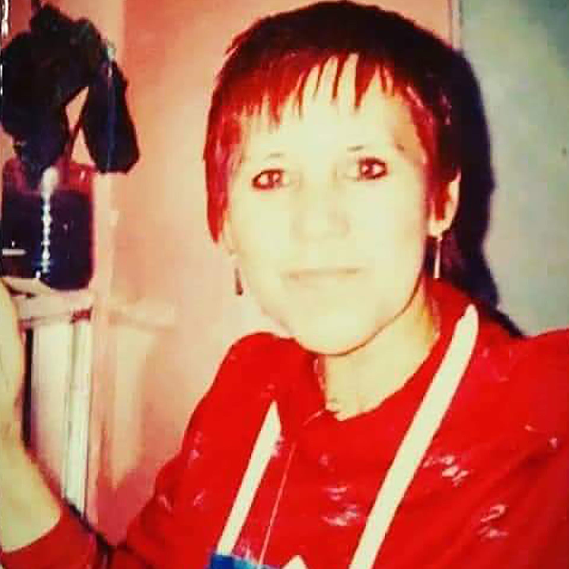 Mercedes, su mamá biológica. Natalia no llegó a conocerla: había muerto poco antes.