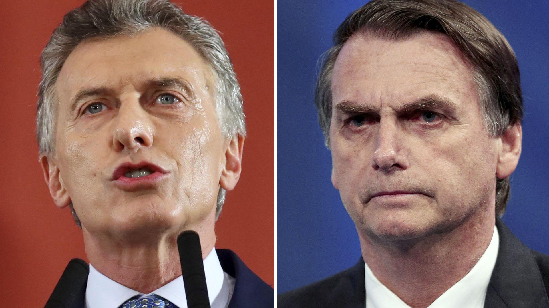 Macri y Bolsonaro se reunirán en dos semanas