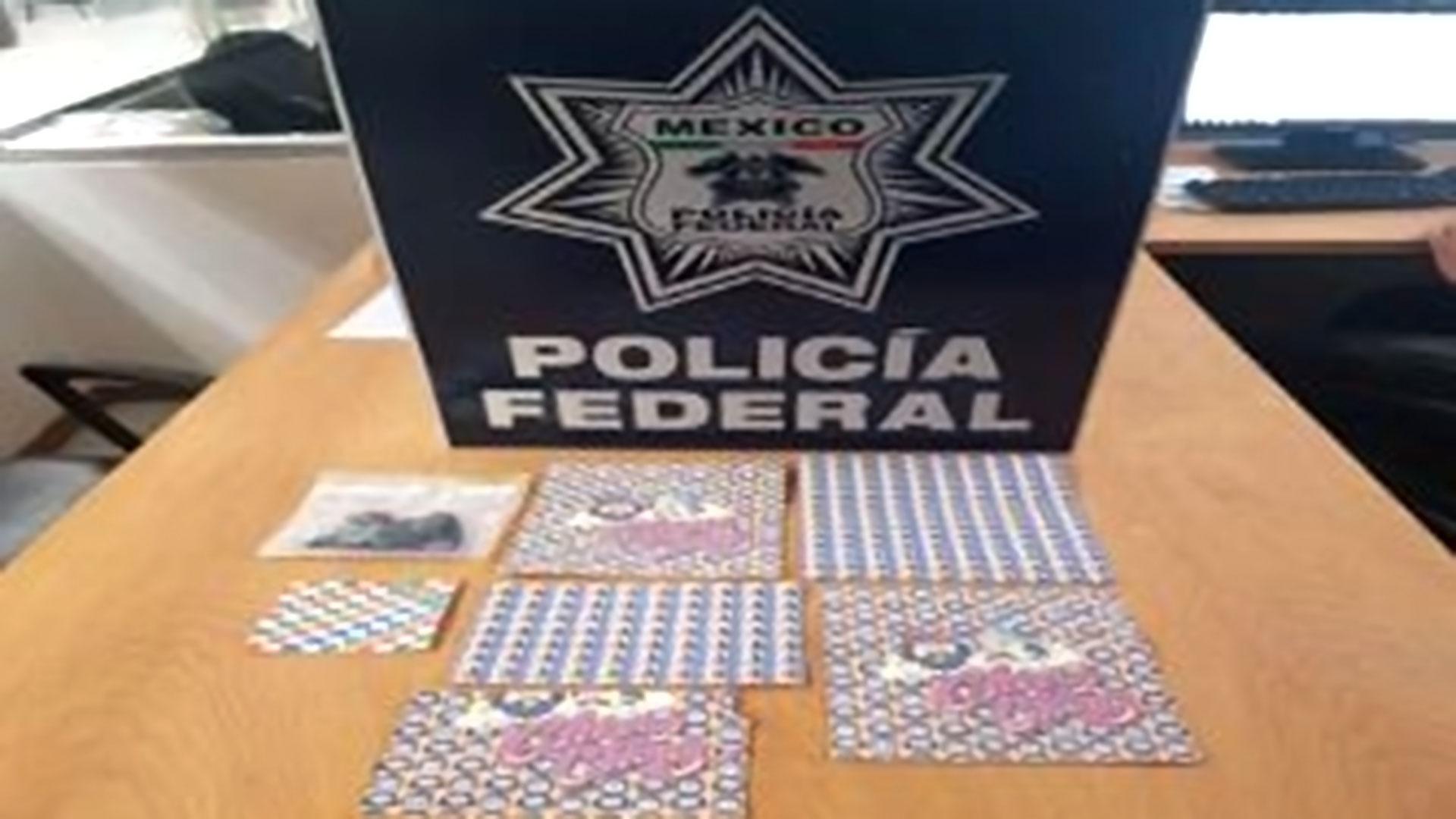 La droga hallada en el aeropuerto de Ciudad de México. (Foto: Policía Federal)