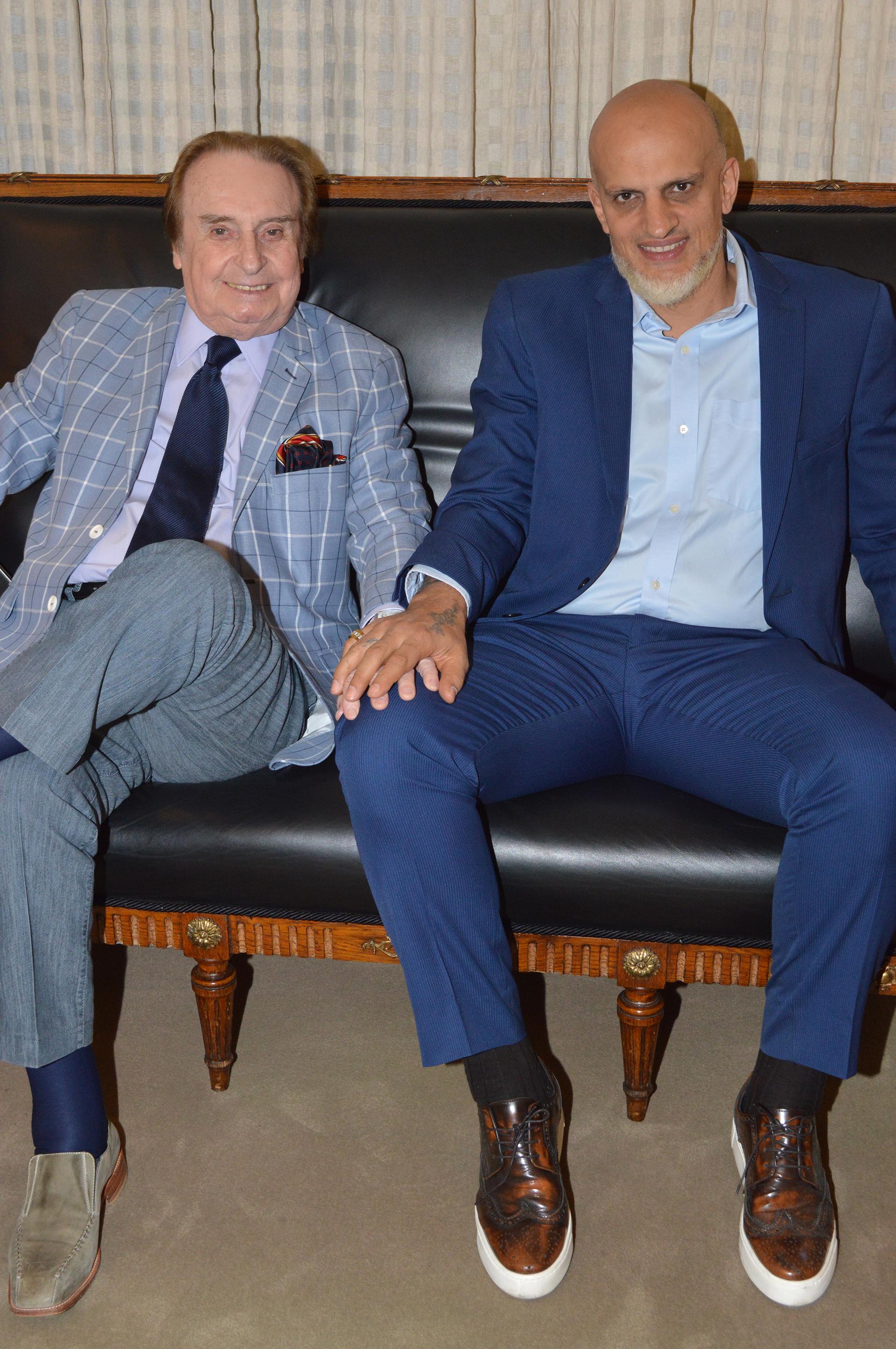 Santiago Bal y Guillermo Marín