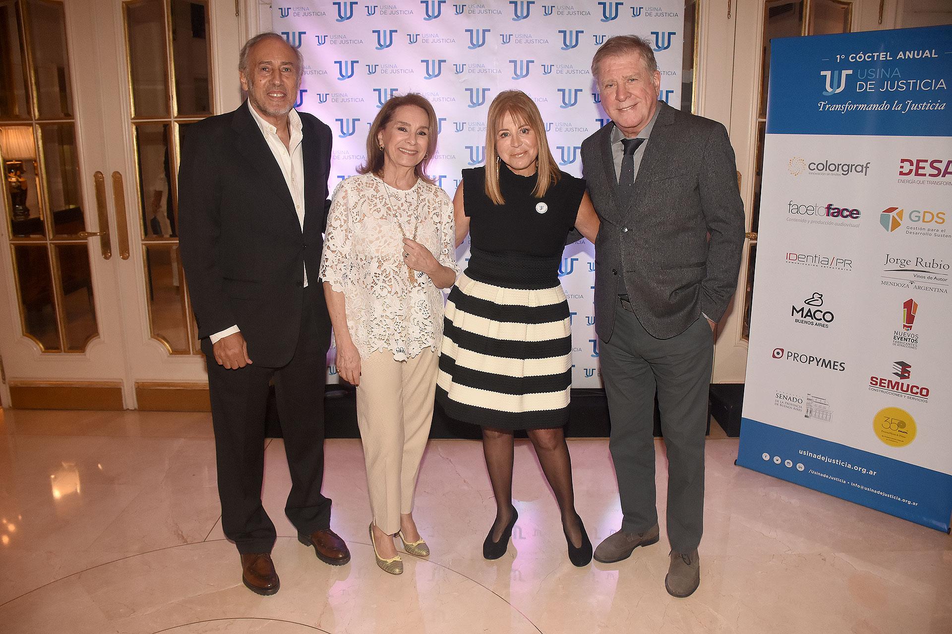 Gustavo Yankelevich, Selva Aleman, Diana Cohen Agrest y Arturo Puig