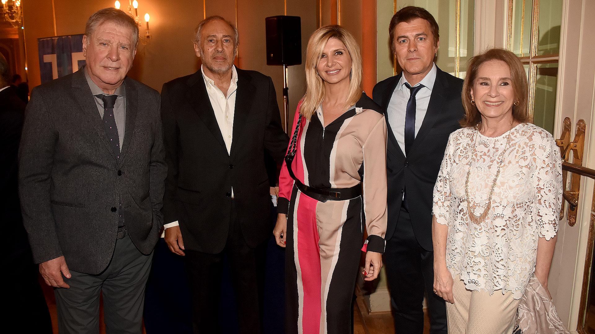 Arturo Puig, Gustavo Yankelevich, Débora Plager, Gabriel Corrado y Selva Aleman