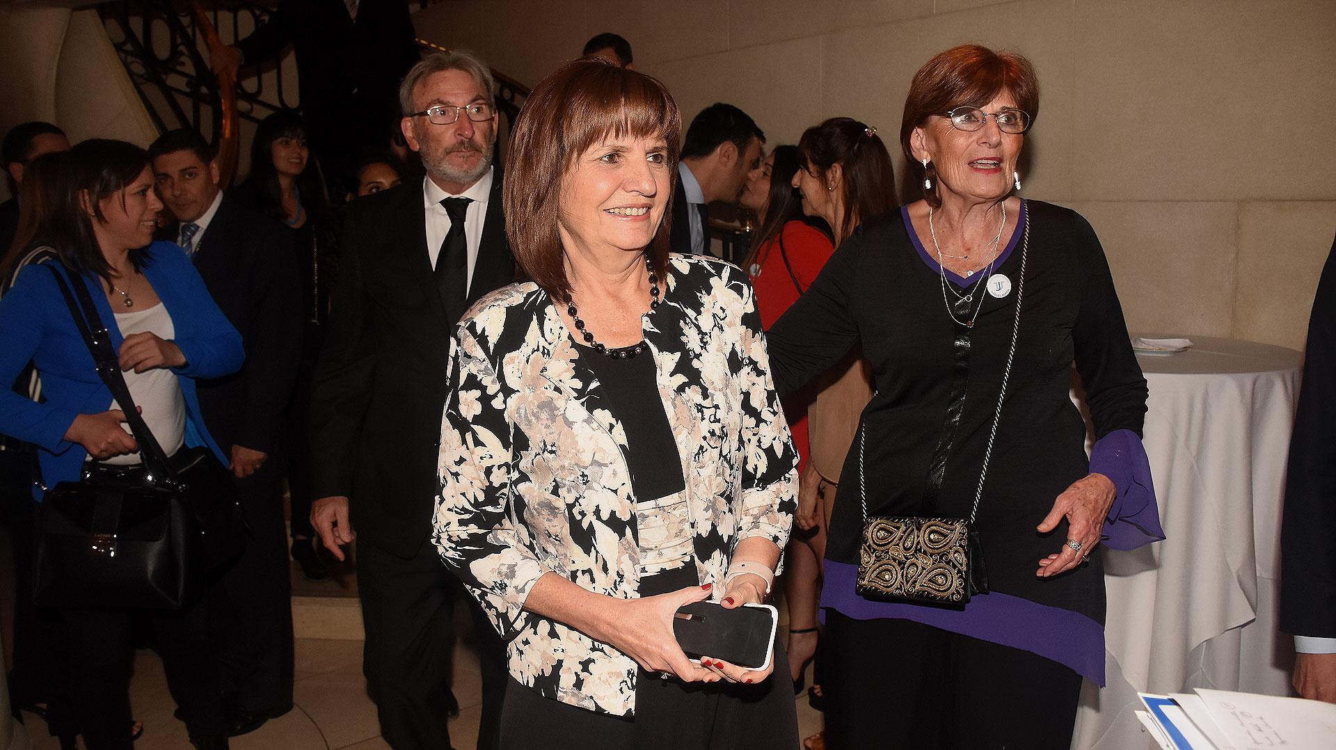 La ministra de Seguridad, Patricia Bullrich