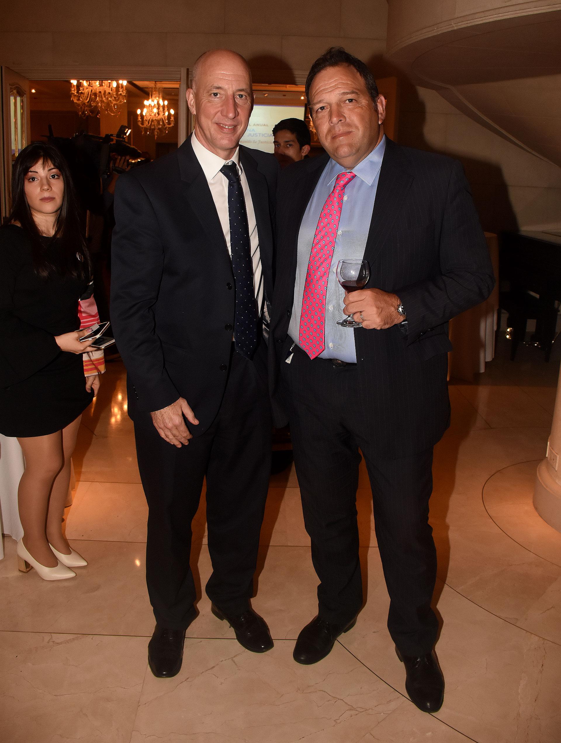 Mark Kent y Javier Sánchez de La-Puente
