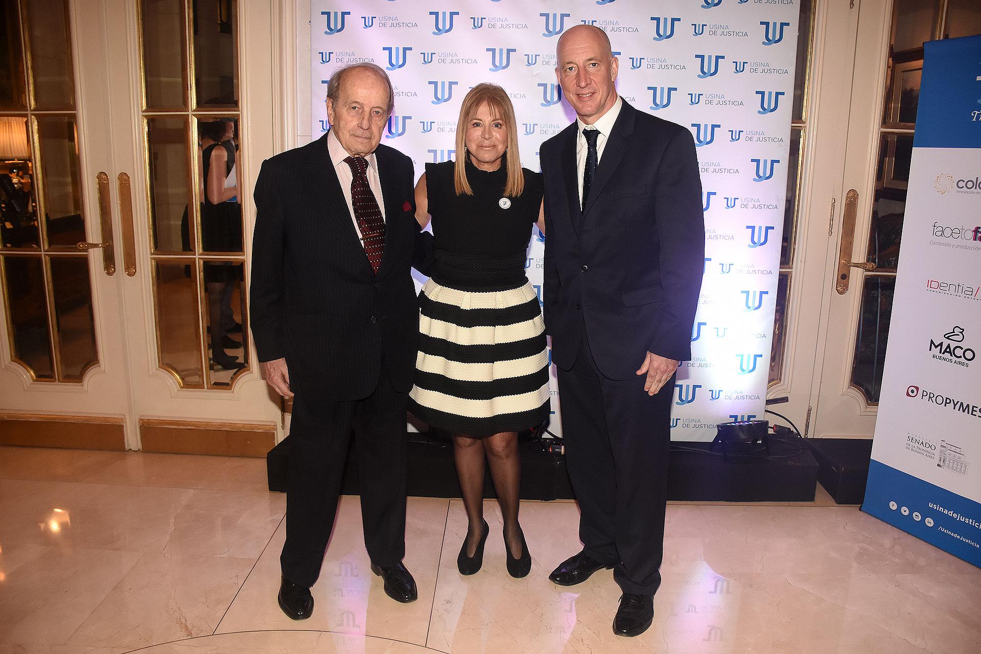 Ricardo Monner Sanz, Diana Cohen Agrest y Mark Kent
