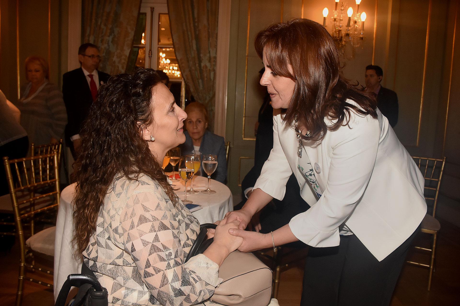 Gabriela Michetti y Karina Massa