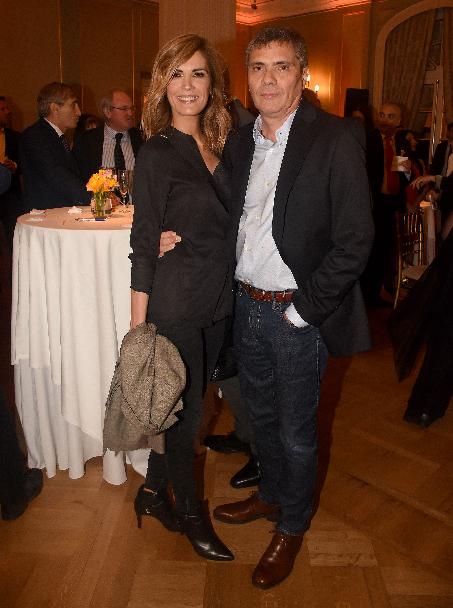 Viviana Canosa y Alejandro Borensztein