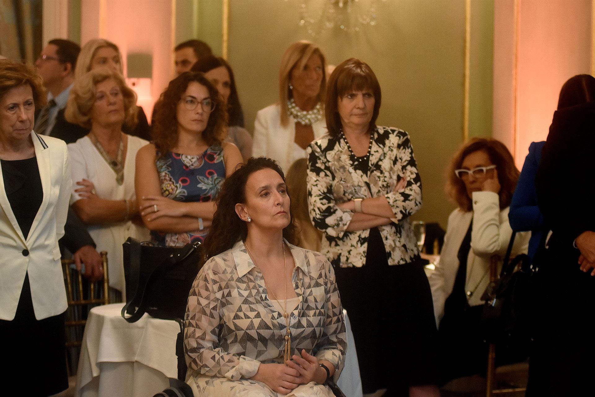 Gabriela Michetti y Patricia Bullrich