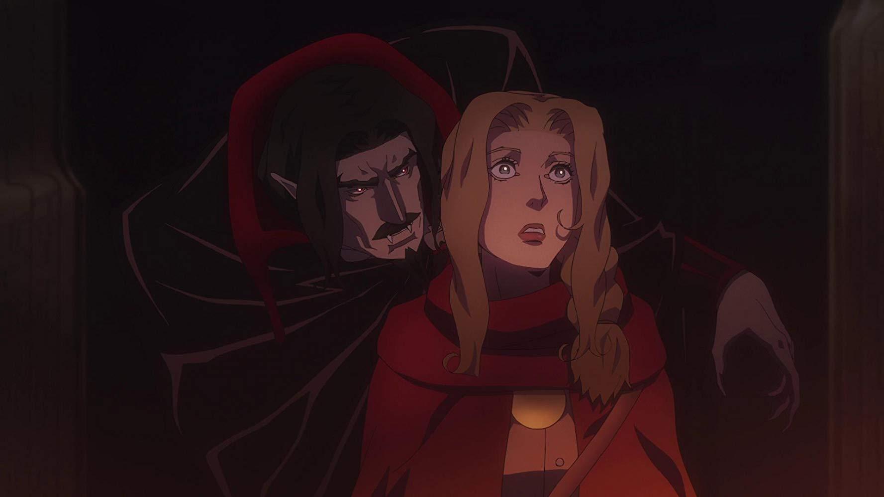 """La historia está exclusivamente inspirada en la tercera parte de la serie de videojuegos """"Castlevania III: Dracula's Revenge""""."""