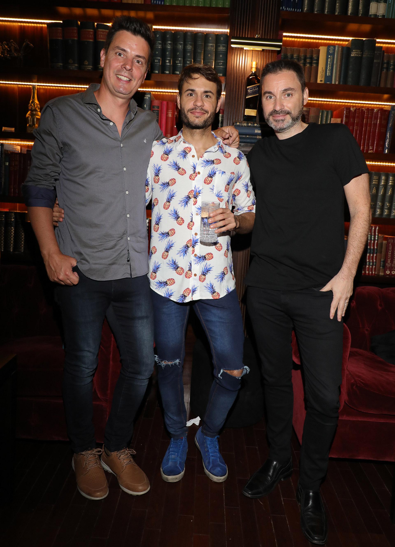 Santiago Zeyen, Tomás Dente y Ariel Wolman