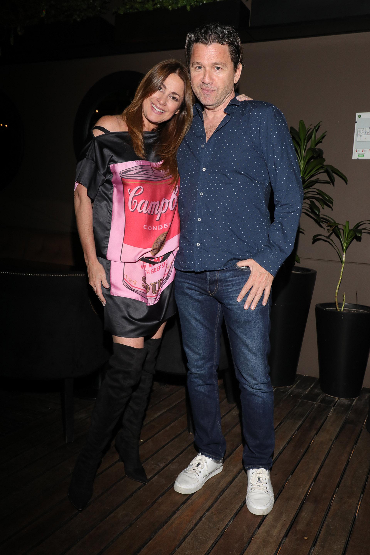 Andrea Campbell y su pareja Ricky