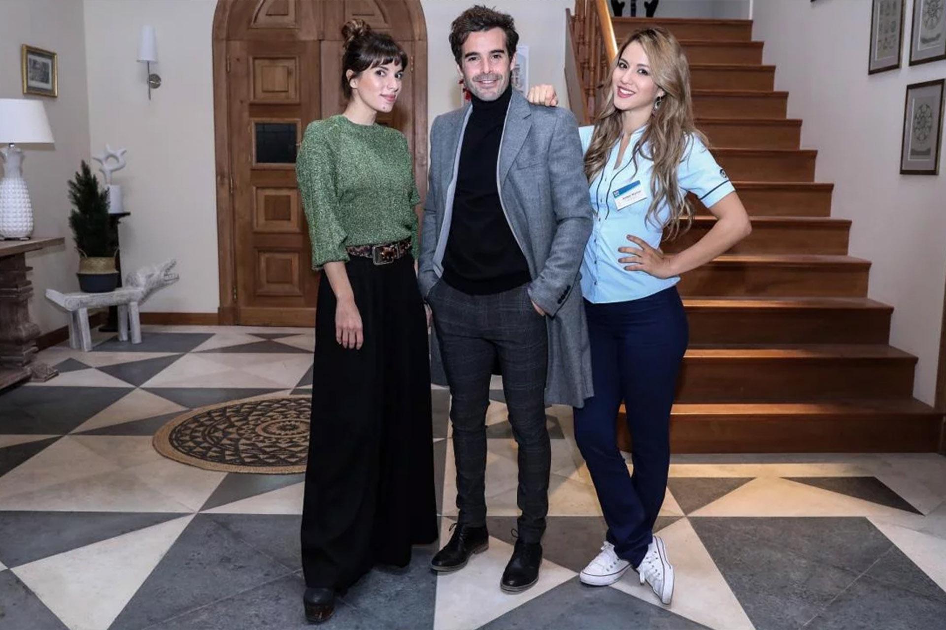 """Gimena Accardi, Nicolás Cabré y Flor Vigna en """"Mi hermano es un clon"""""""