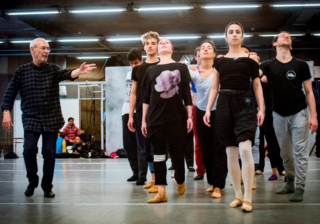 Teatro Argentino - Temporada 2018 - Ballet Estable - M° Oscar Araiz - Ensayo;