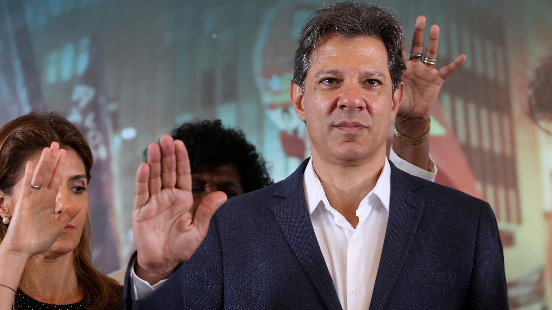 Fernanado Haddad (Reuters)
