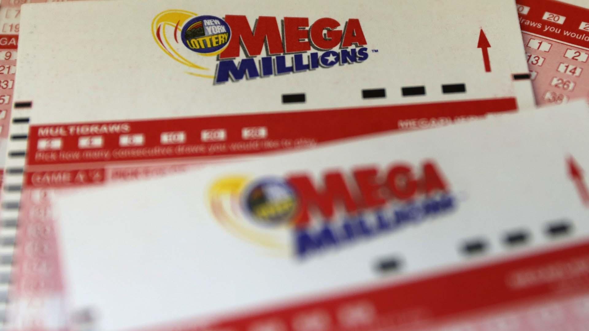 El martes 25 por la noche se sortean 305 millones de dólares del Mega Millions.