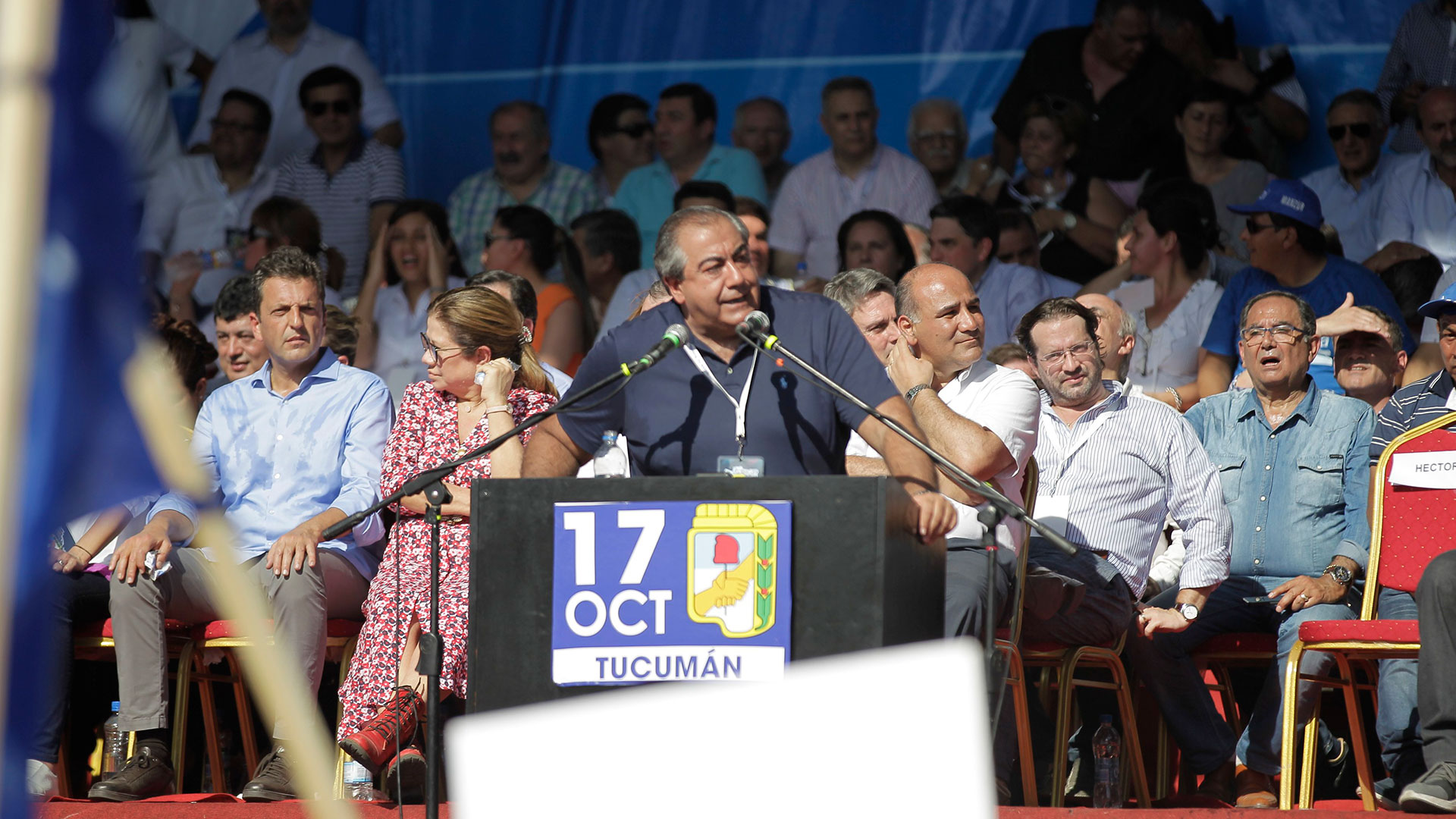 Héctor Daer, miembro de la conducción de la CGT