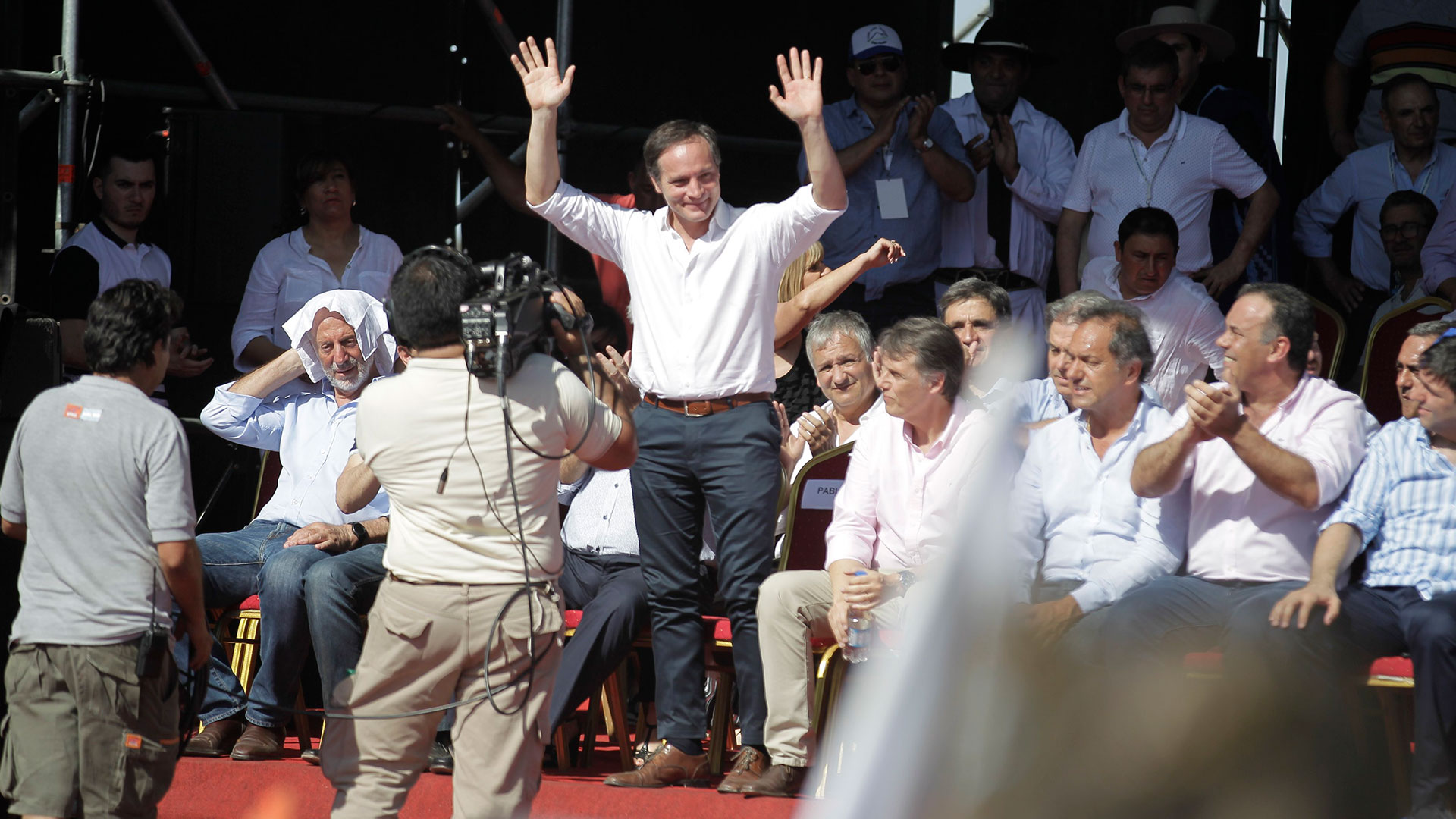 """El senador correntino Carlos """"Camau"""" Espínola"""