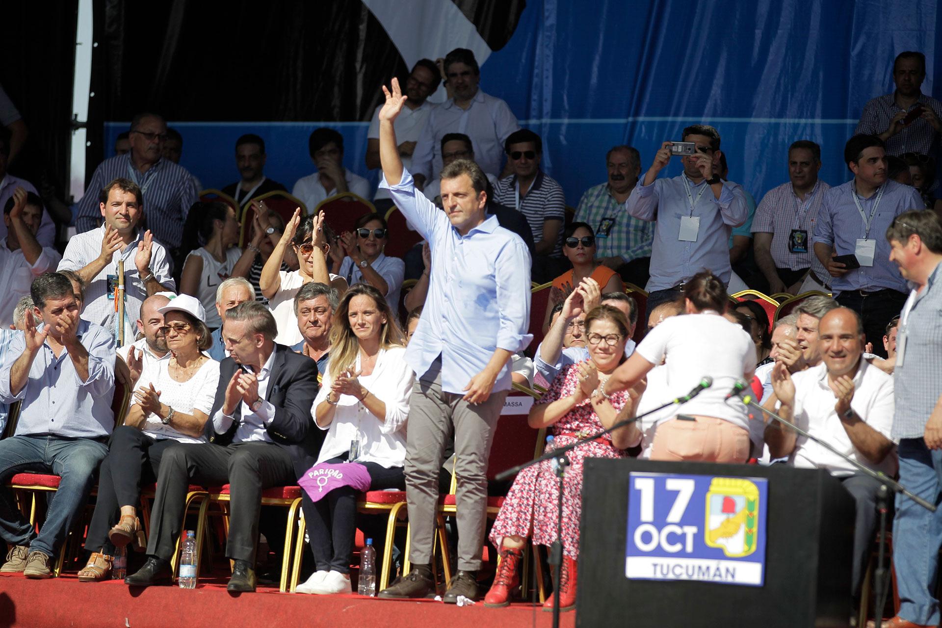 Sergio Massa, líder del Frente Renovador