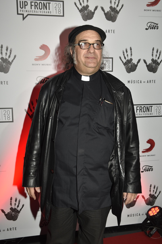 César Scicchitano, más conocido como el Cura rockero