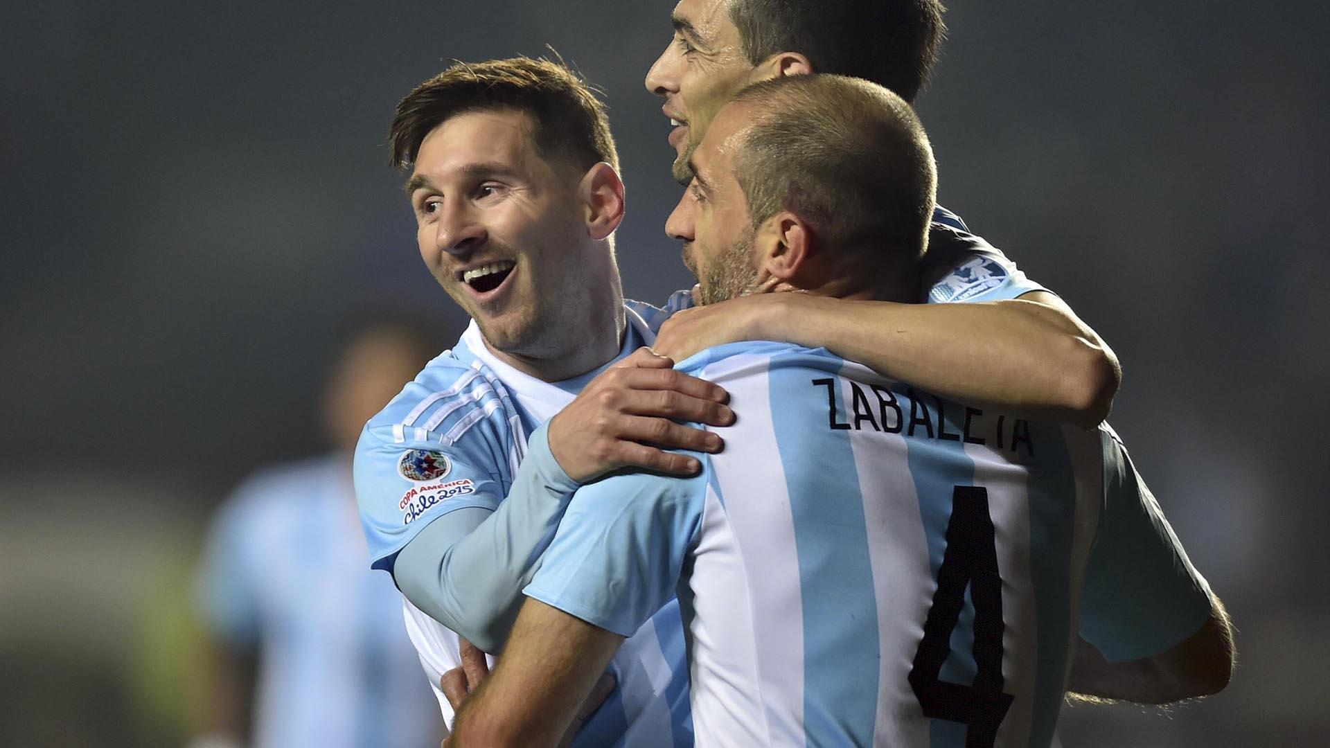 Desde el 2005, en adelante: Messi y Zabaleta forjaron una relación con la selección argentina como factor común (NA)