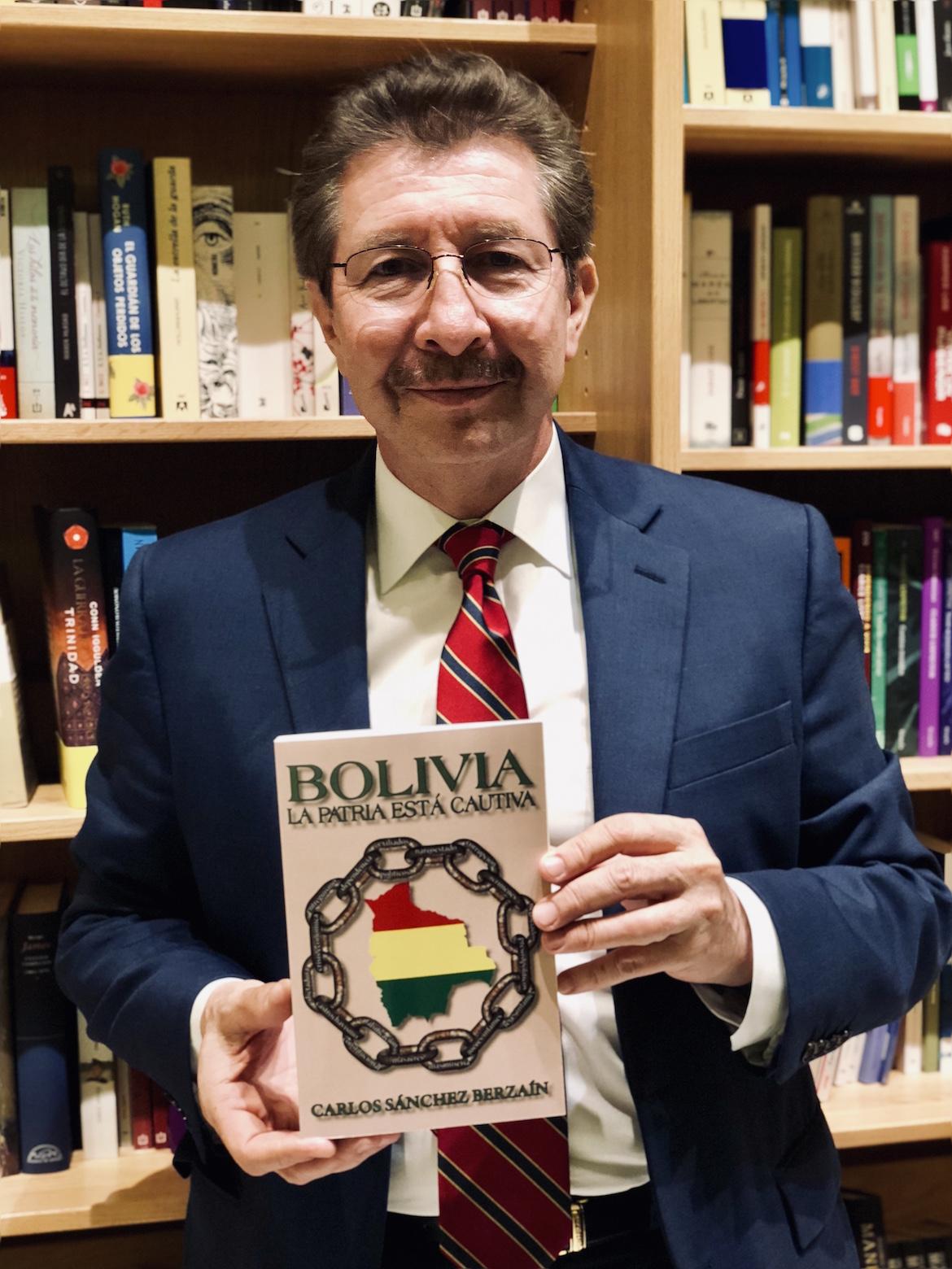 El asilado político en EEUU y Director del Instituto Interamericano por la Democracia, Carlos Sánchez Berzaín es uno de los máximos representantes del exilio boliviano en suelo norteamericano. Foto Infobae